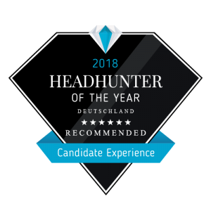 Headhunter of the Year 2018 Candidate Experience Xenagos