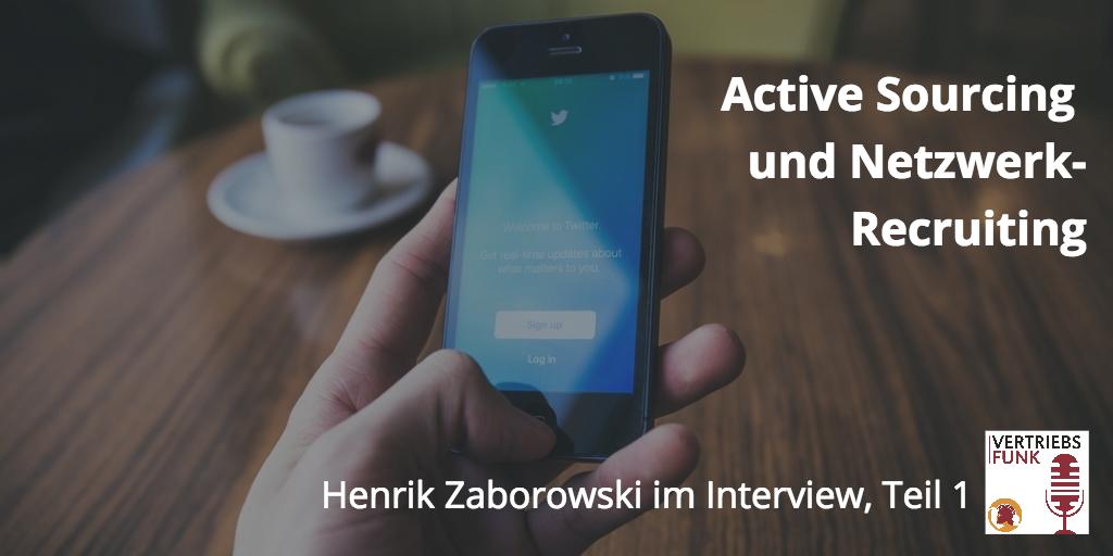 VertriebsFunk Active Sourcing Zaborowski Teil 1