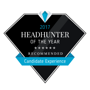 Headhunter of the Year 2017 - Candidate Experience - Experteer