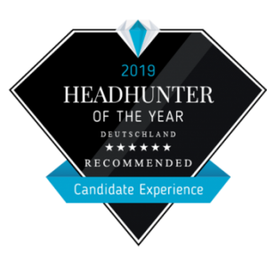 Headhunter Of The Year 2019 Recommended